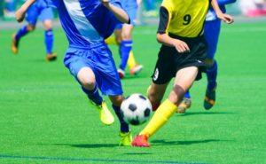 サッカーで体幹をトレーニング