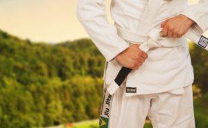 柔道のトレーニング