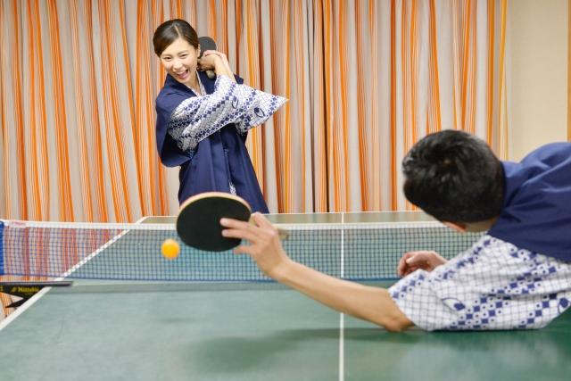 卓球のトレーニング