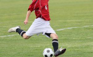 体幹を使うサッカーのトレーニング