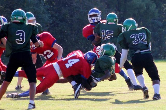 アメリカンフットボール トレーニング