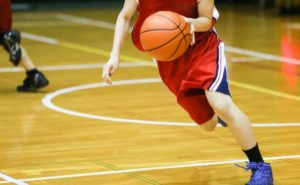 バスケットボールのトレーニング